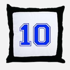 10 Throw Pillow