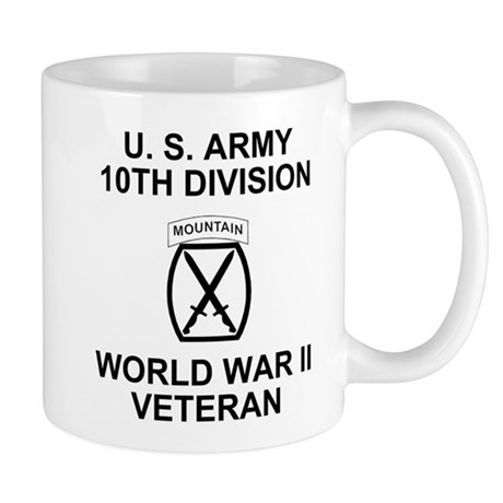 10th Mountain Division <BR>WWII Coffee Cup
