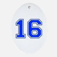16 Ornament (Oval)