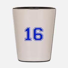 16 Shot Glass