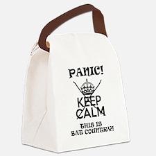 Panic! Canvas Lunch Bag