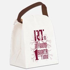 RT-Difference-burgundy Canvas Lunch Bag