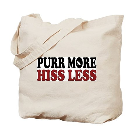 Cat Purr Tote Bag