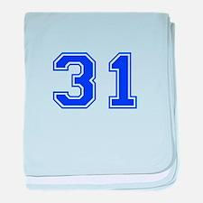 31 baby blanket