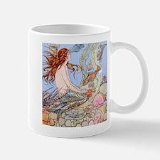Red Head Mermaid! Mugs