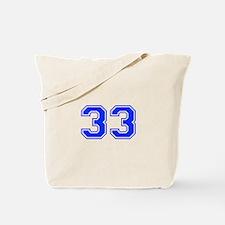 33 Tote Bag