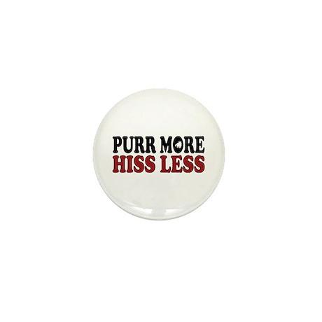Shorthair Purr Mini Button (100 pack)