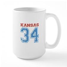Kansas 34 Mug