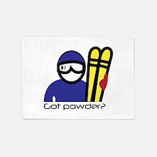 Got Powder 5'x7'Area Rug