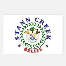 Stann Creek Postcards (Package of 8)