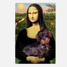 Mona / Dachshund (wire) Postcards (Package of 8)