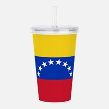 Venezuela Flag Acrylic Double-wall Tumbler