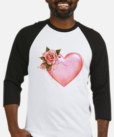 Romantic Hearts Baseball Jersey