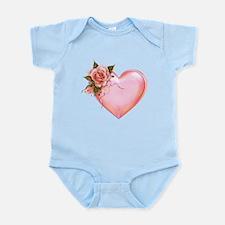 Romantic Hearts Body Suit