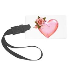 Romantic Hearts Luggage Tag