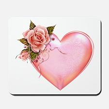Romantic Hearts Mousepad