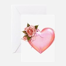 Romantic Hearts Greeting Cards
