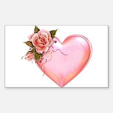 Romantic Hearts Decal