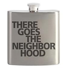 THERE GOES THE NEIGHBORHOOD Flask