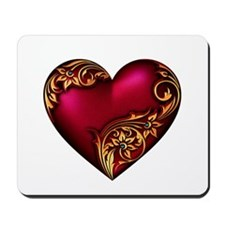 Romantic Hearts Mousepad