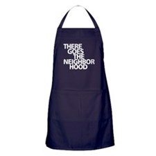 THERE GOES THE NEIGHBORHOOD Apron (dark)