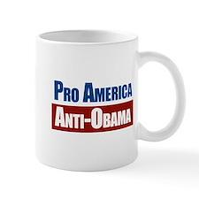 Pro America Anti-Obama Mugs
