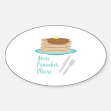 More Pancakes Please Decal