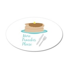 More Pancakes Please Wall Decal