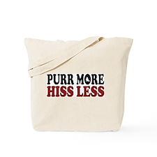 Curl Purr Tote Bag