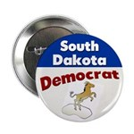 South Dakota Democrat Button