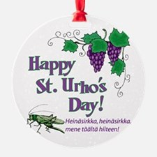 Happy St. Urho's Day Ornament