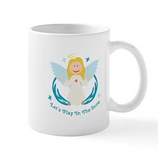 Snow Play Angel Mugs