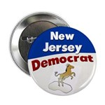New Jersey Democrat Button