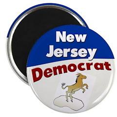 New Jersey Democrat Magnet