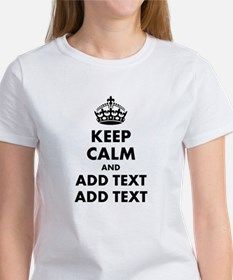 Personalized Keep Calm Tee