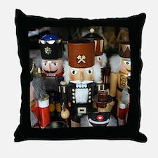 Nutcrackers Throw Pillow