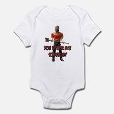You Better Axe Somebody Infant Bodysuit