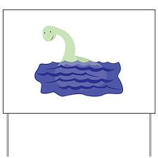 Loch Ness Monster Yard Sign