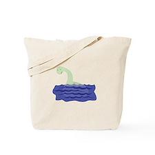 Loch Ness Monster Tote Bag