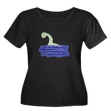 Loch Ness Monster Plus Size T-Shirt