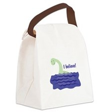 Nessy Believe Canvas Lunch Bag