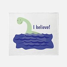 Nessy Believe Throw Blanket