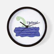 Nessy Believe Wall Clock