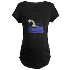 Nessy Believe Maternity T-Shirt