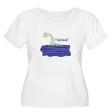 Nessy Believe Plus Size T-Shirt