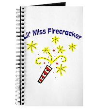 Lil' Miss Firecracker Journal