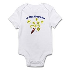 Lil' Miss Firecracker Infant Bodysuit