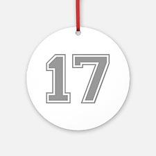 17 Ornament (Round)
