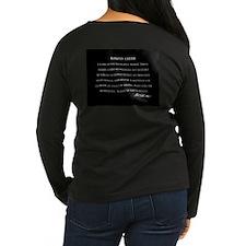 Ed Parker Sr. Women's Dark Long Sleeve T-Shirt
