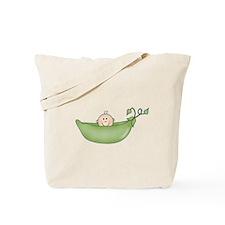 Pea in a Pod Tote Bag